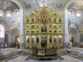 Panorama Capriana Monastery - inside the church