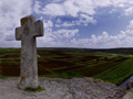 Panorama Top Cross in Old Orhei